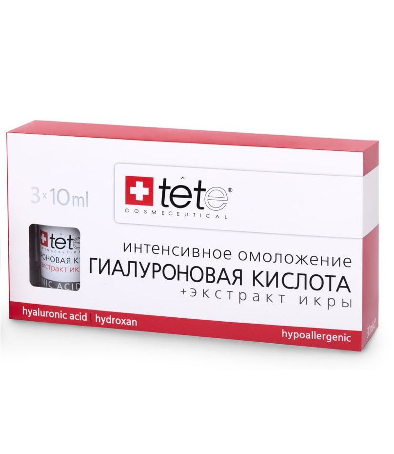 Гиалуроновая кислота с экстрактом икры TETe Cosmeceutical Hyaluronic Acid and Caviar Extract