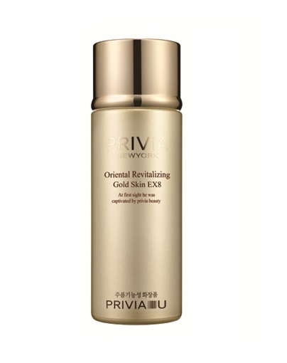 Тоник для лица восстанавливающий Privia Oriental Revitalizing Gold Skin