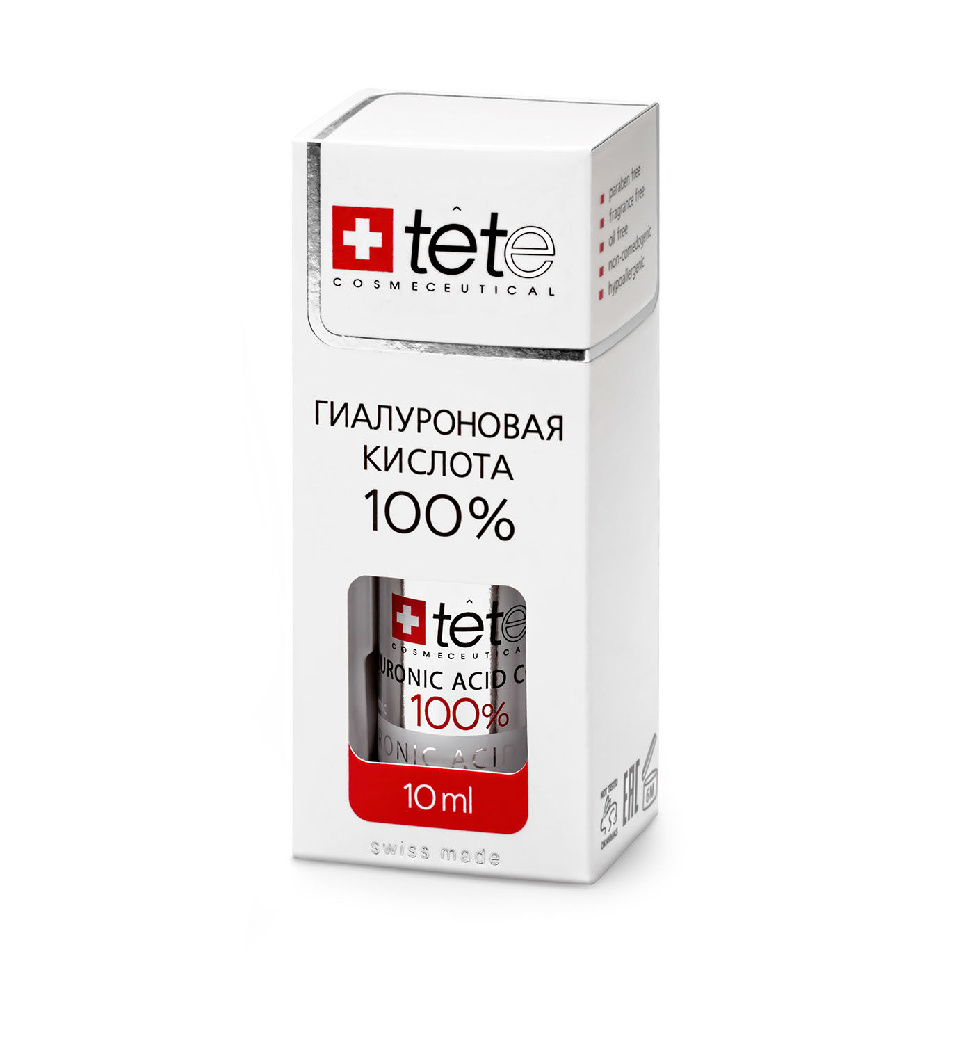 Мини гиалуроновая кислота 100% TETe Cosmeceutical Hyaluronic Acid