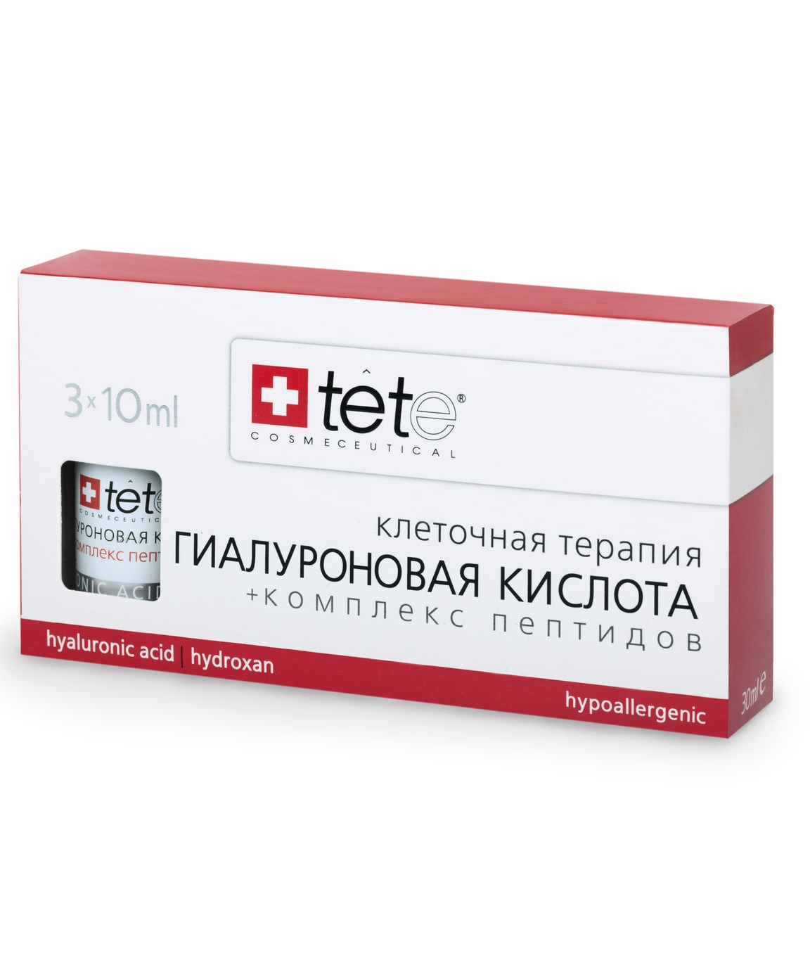 Гиалуроновая кислота с комплексом пептидов TETe Cosmeceutical Hyaluronic Acid and Peptides