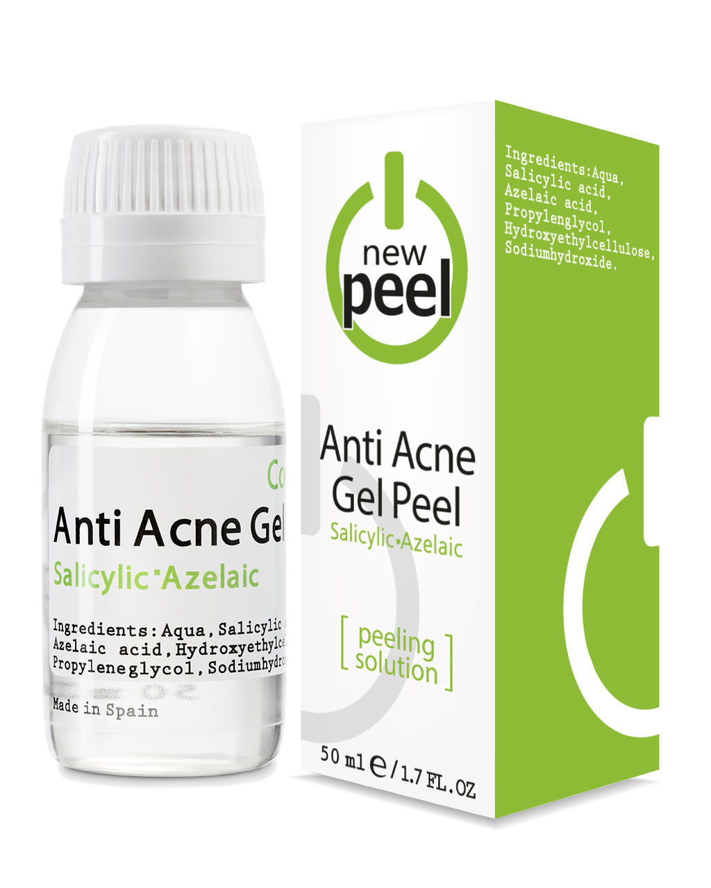 Анти-акне пилинг New Peel Anti-Acne Gel Peel