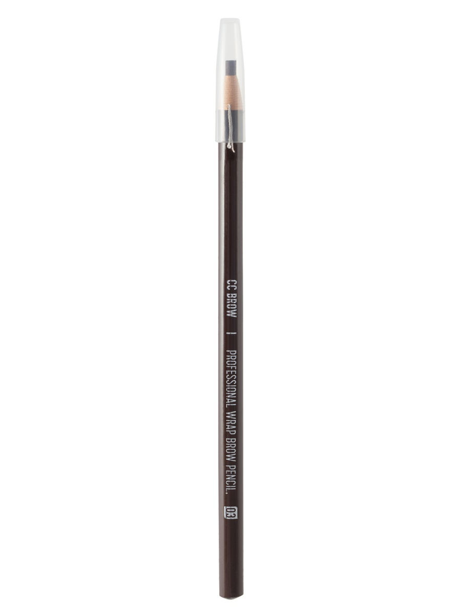 Карандаш для бровей серый Lucas Cosmetics CC Brow Wrap Brow Pencil Gray тон 04