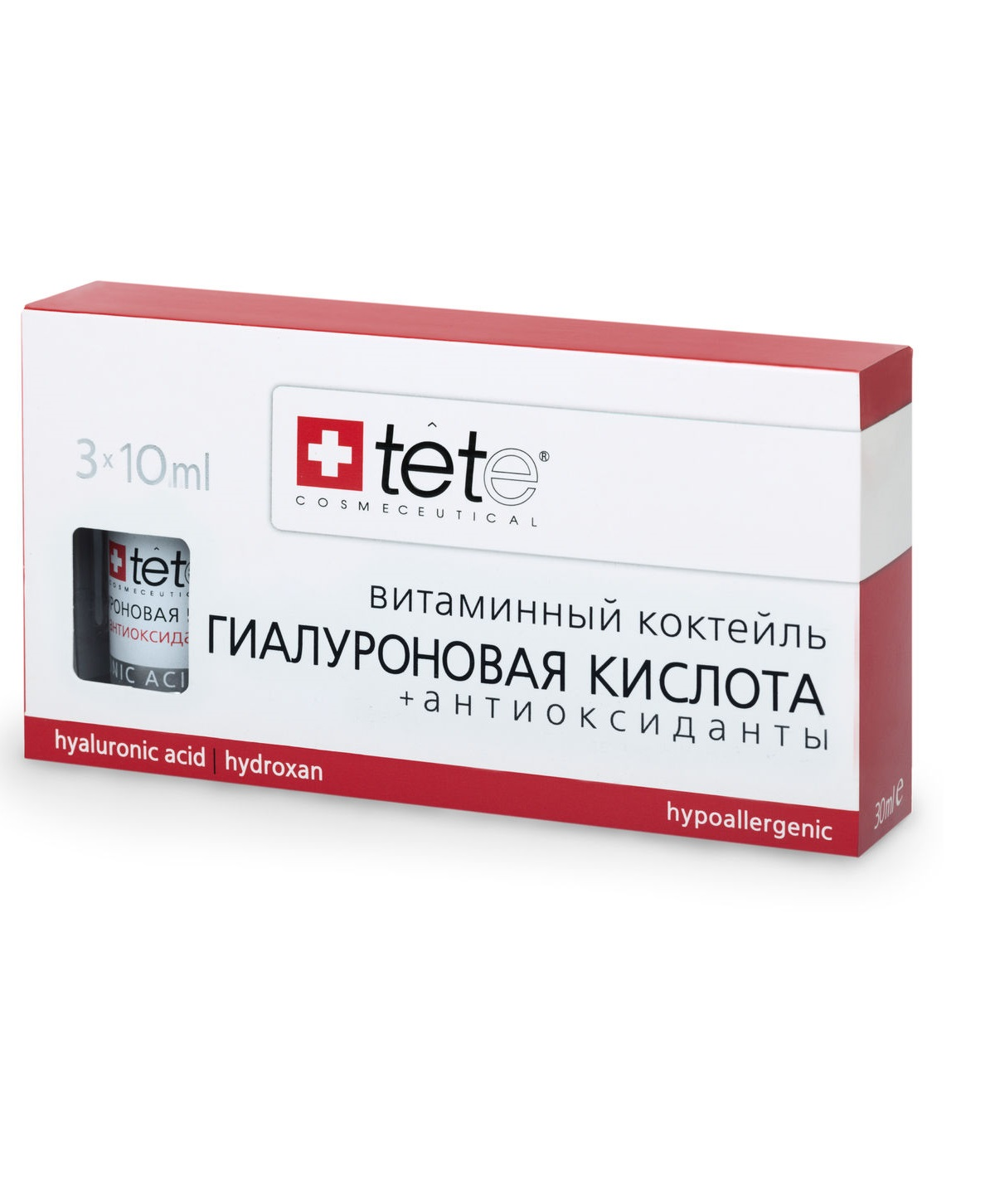 Гиалуроновая кислота с антиоксидантами TETe Cosmeceutical Hyaluronic Acid and Antioxidants