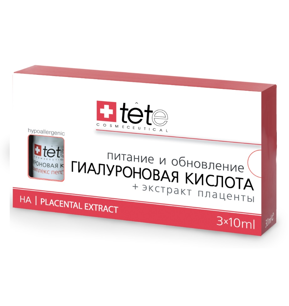 Гиалуроновая кислота с экстрактом плаценты TETe Cosmeceutical Hyaluronic Acid + Placental Extract