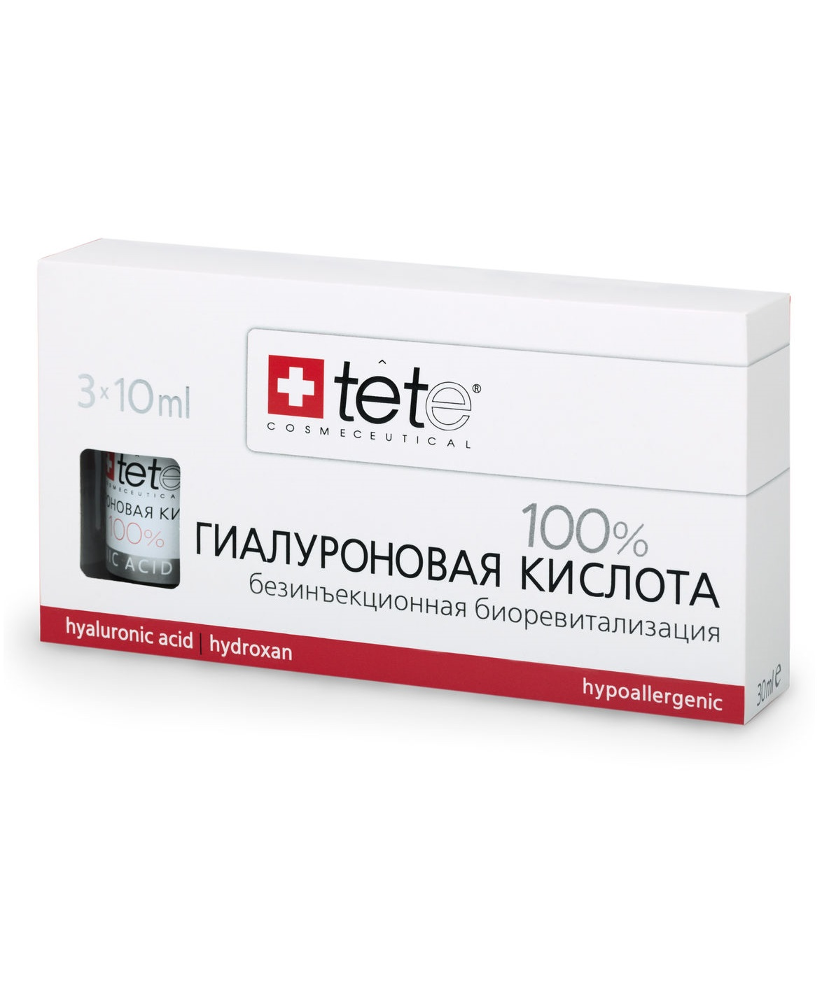 Гиалуроновая кислота 100% TETe Cosmeceutical Hyaluronic Acid