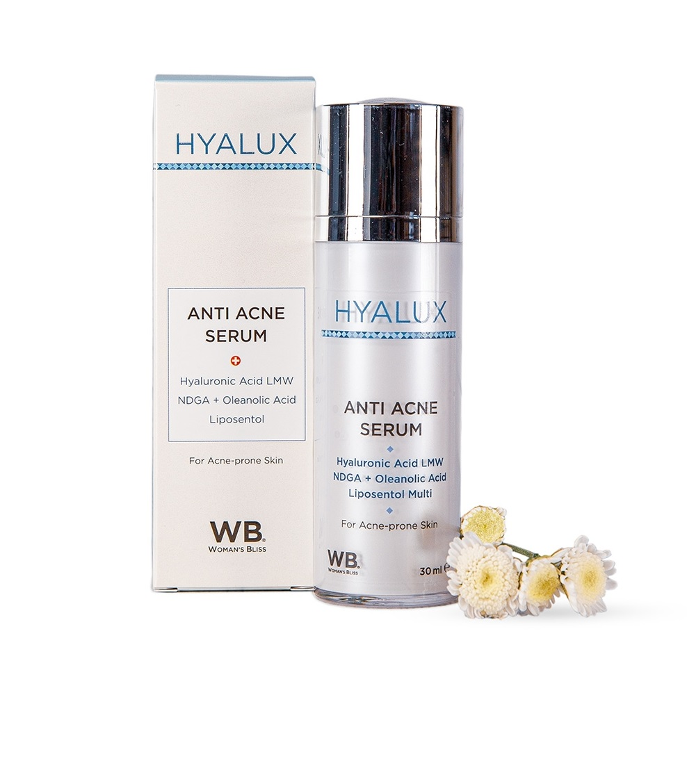 Сыворотка анти-акне Woman's Bliss Hyalux Anti Acne Serum