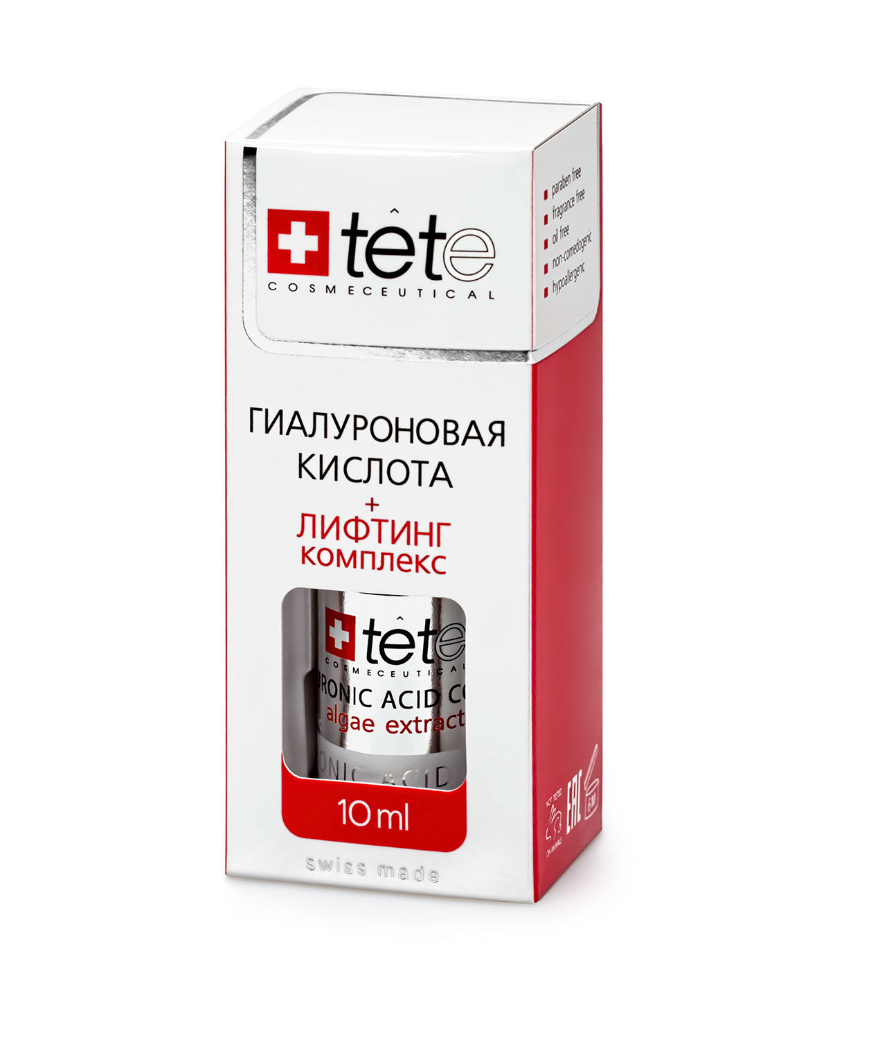 Мини гиалуроновая кислота + лифтинг комплекс TETe Cosmeceutical MINI Hyaluronic Acid Lifting Complex