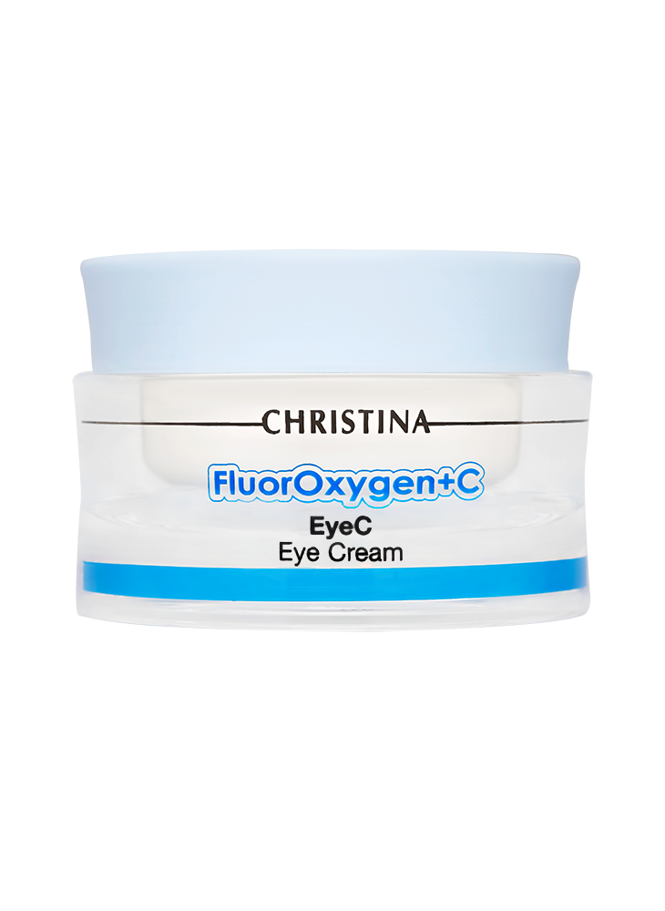 Крем для кожи вокруг глаз SPF 15 Christina Fluoroxygen+C Eyec Eye Cream SPF 15