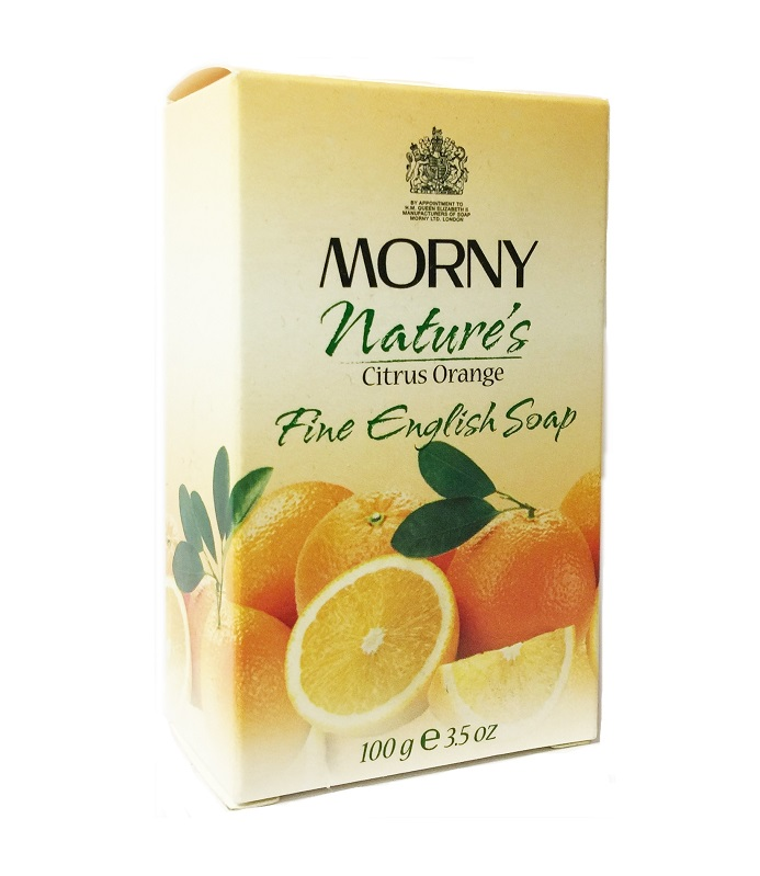 Английское мыло Апельсин Morny of London Natures Citrus Orange Fine English Soap