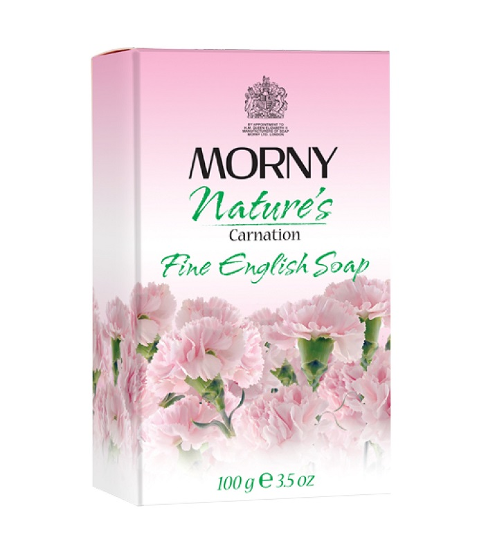 Английское мыло Гвоздика Morny of London Natures Carnation Fine English Soap