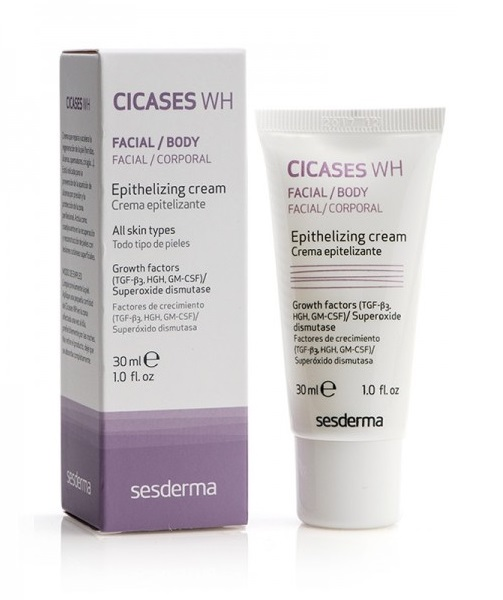Эпителизирующий крем Sesderma Cicases WH Epithelializing Cream