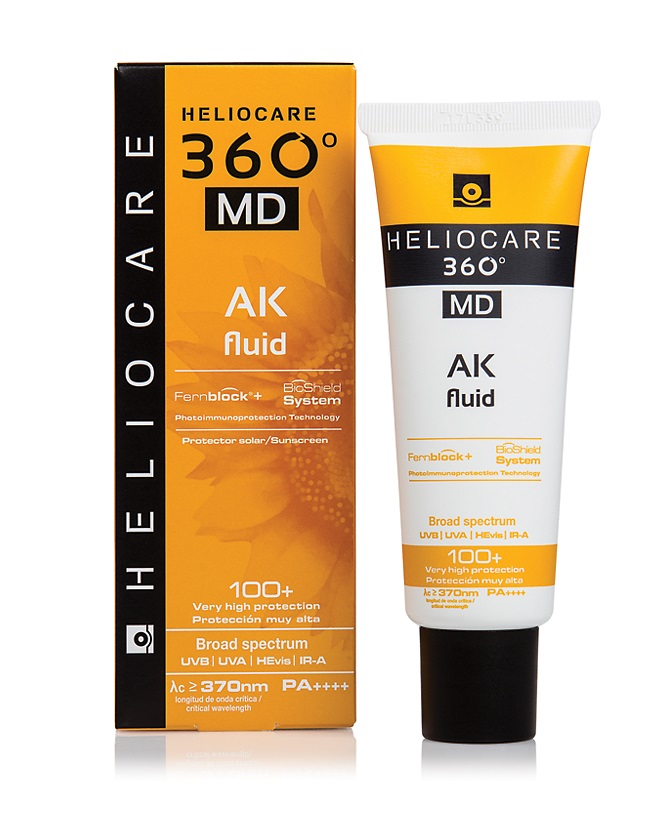 Флюид АК с тотальной защитой SPF100+ Cantabria Labs Heliocare 360º MD AK Fluid Sunscreen 100+