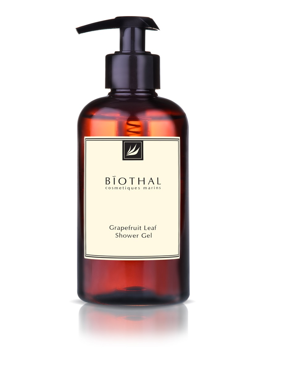 Гель для душа Грейпфрут Biothal Grapefruit Leaf Showet Gel