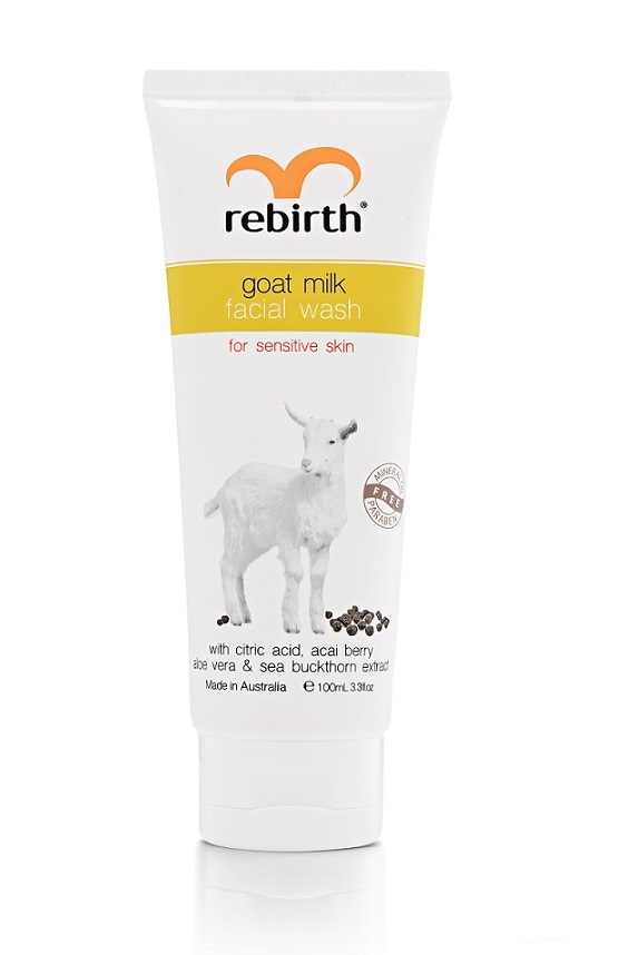 Гель для умывания с экстрактом козьего молока Rebirth Goat Milk Facial Wash