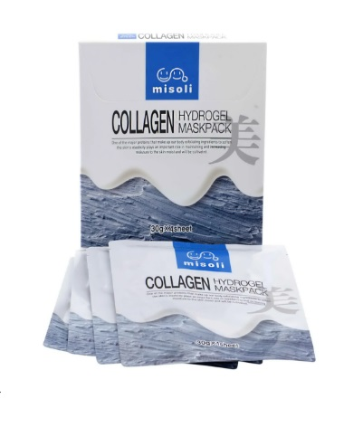 Гидрогелевая маска для лица с коллагеном Misoli Collagen Hydrogel Mask