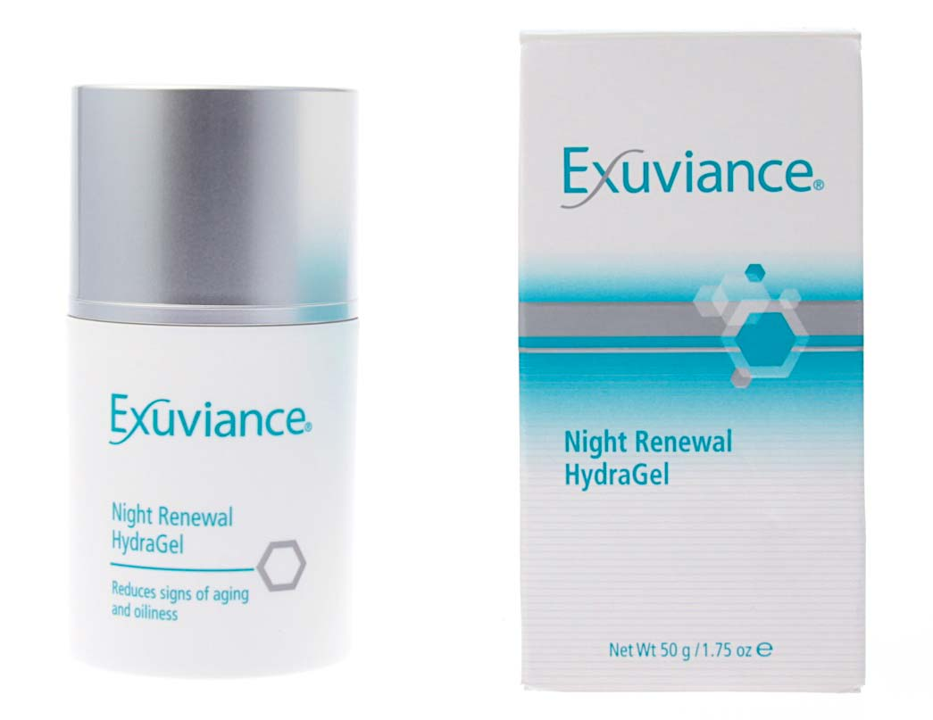 Ночной восстанавливающий гидрогель Exuviance Night Renewal HydraGel