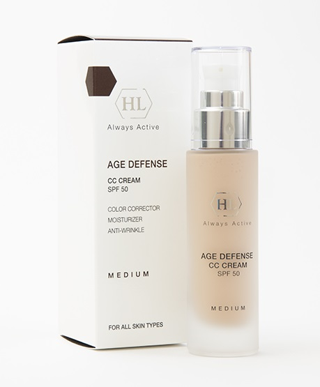 Корректирующий крем Holy Land Age Defense CC Cream SPF 50 Medium