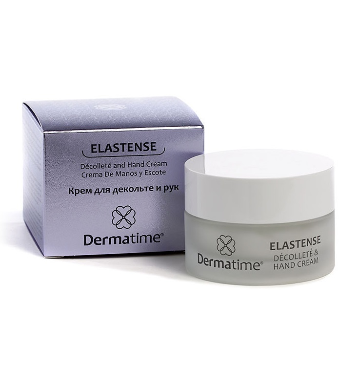 Крем для декольте и рук Dermatime Elastense Decollete and Hand Cream