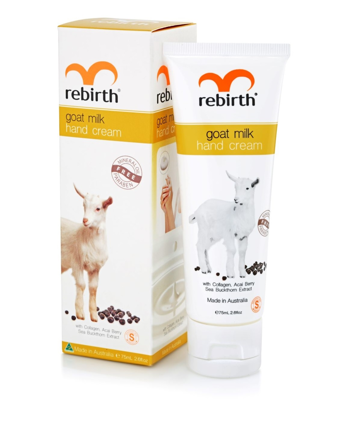 Крем для рук с экстрактом козьего молока Rebirth Goat Milk Hand Cream