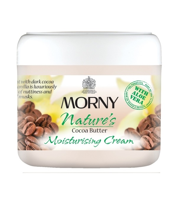 Крем для тела масло какао Morny of London Cocoa Butter Moisturising Cream