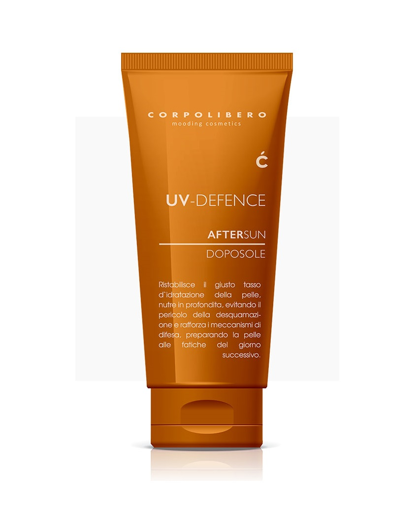 Крем после загара Corpolibero UV-Defence Aftersun Cream