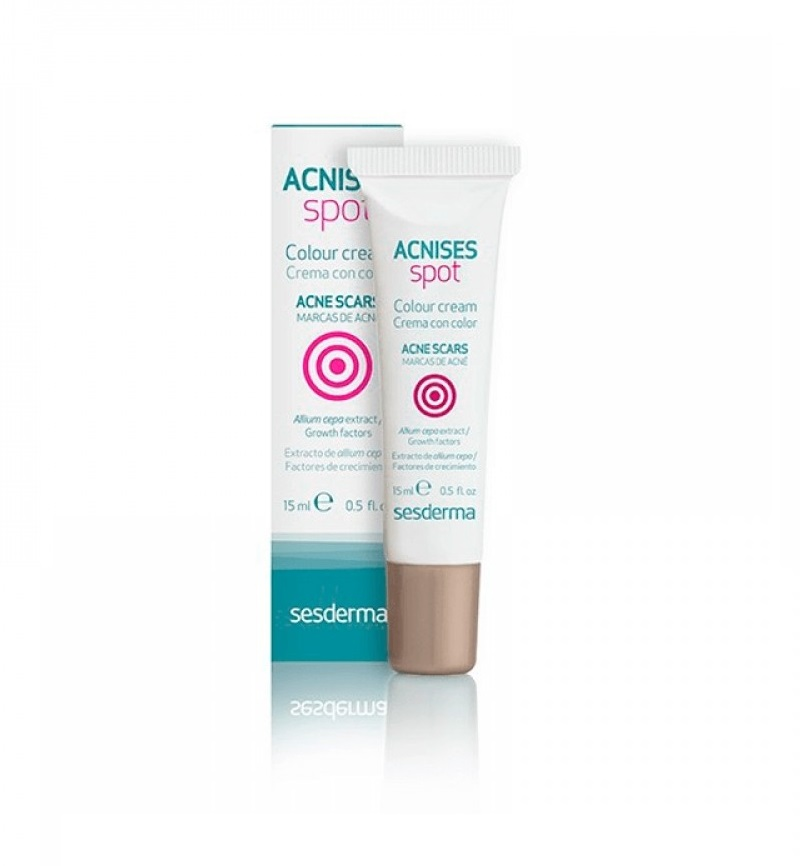Крем против акне Sesderma Acnises Spot Colour Cream Acne Scars