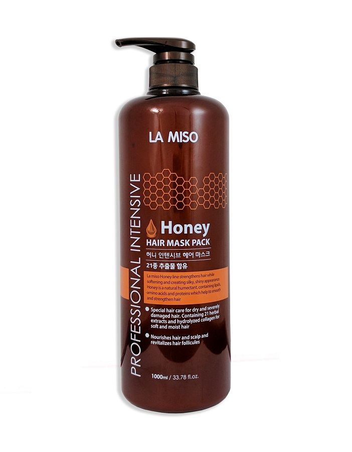 Медовая маска для волос La Miso Professional Intensive Honey Hair Mask