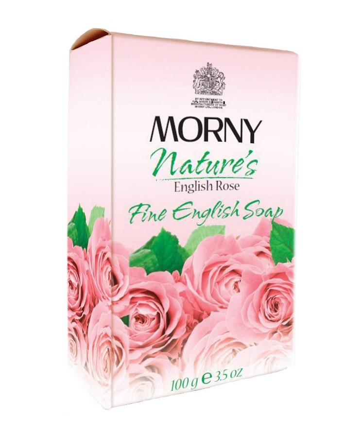 Мыло Английская роза Morny of London Natures English Rose Fine English Soap