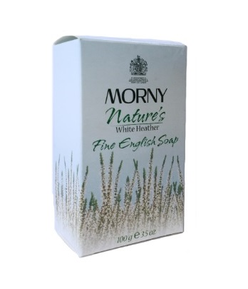 Мыло Белый Вереск Morny of London Natures White Heather English Soap