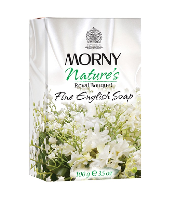Мыло Королевский букет Morny of London Royal Bouquet Fine English Soap