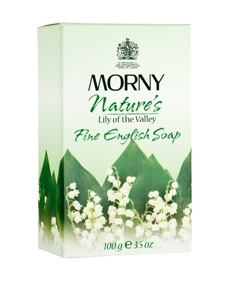 Мыло Ландыш Morny of London Lily of the Valley Fine English Soap