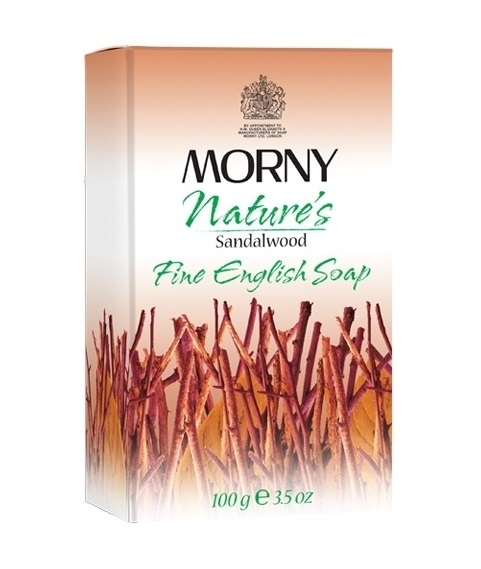 Мыло Сандаловое дерево Morny of London Natures Sandalwood Fine English Soap