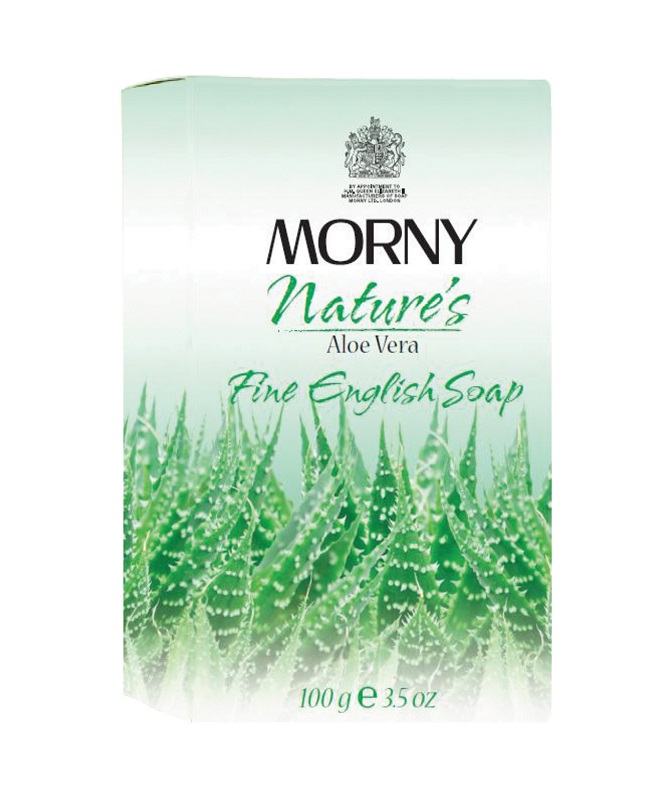 Мыло с алое вера Morny of London Natures Aloe Vera Fine English Soap
