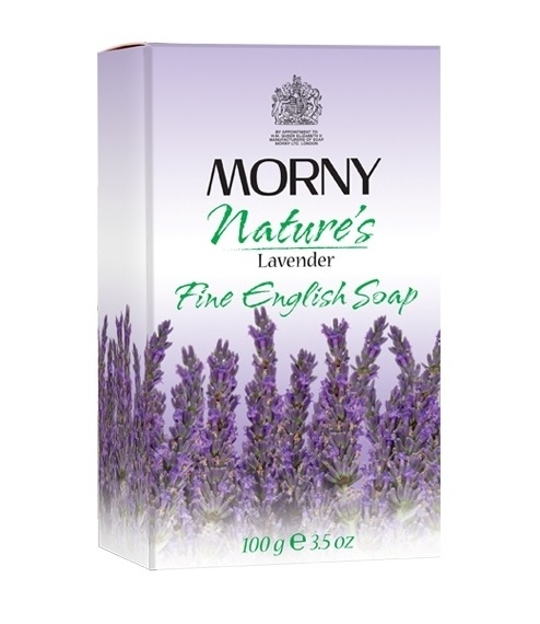 Мыло с лавандой Morny of London Natures Lavander Fine English Soap
