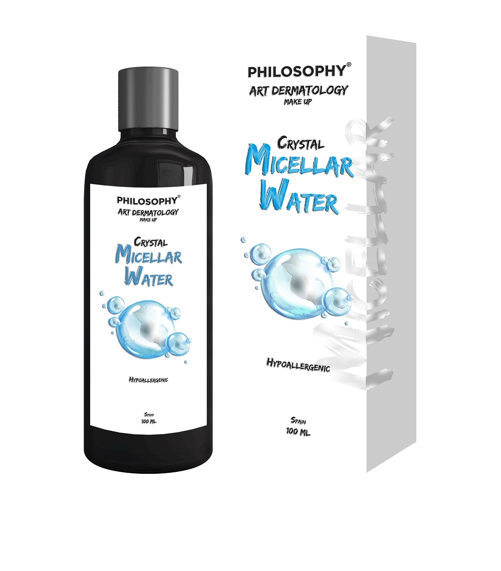 Мицеллярная вода Philosophy Art Dermatology Make Up Crystal Micellar Water