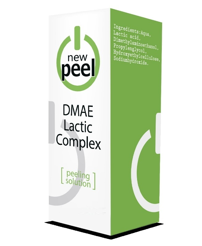 Молочный пилинг с ДМАЕ New Peel DMAE Lactic Complex Mini