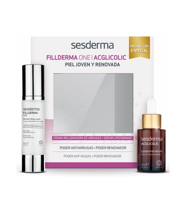 Набор Sesderma крем Fillderma Nano One + Сыворотка Acglicolic
