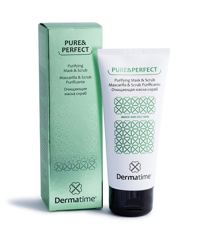 Очищающая маска-скраб Dermatime Pure&Perfect Purifying Mask & Scrub