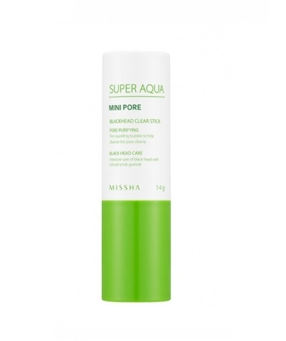 Очищающая маска-скраб для лица MISSHA Super Aqua Mini Pore Black Head Clear Stick