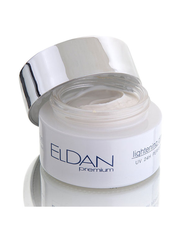 Отбеливающий крем 24 часа Eldan Premium Lightening Dimension UV 24h Perfect Cream