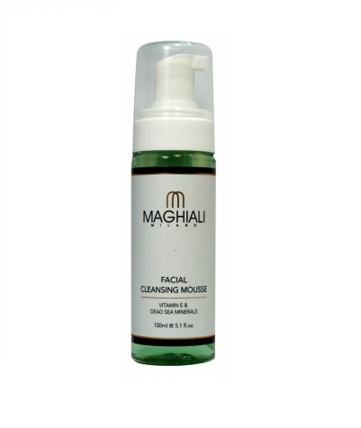 Очищающий мусс Maghiali Facial Cleansing Mousse Vitamin E and Dead See Minerals