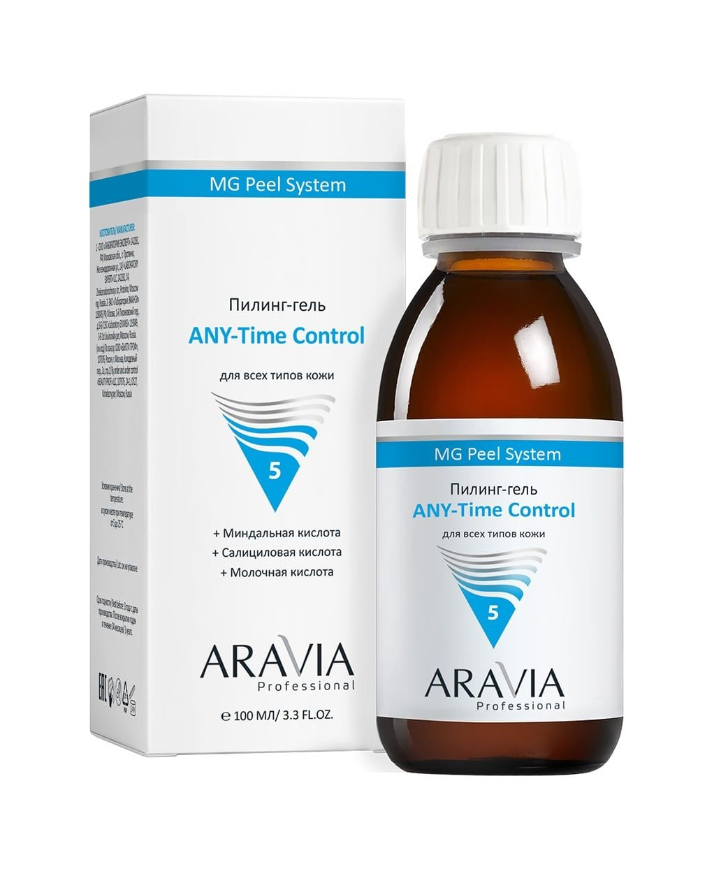 Пилинг-гель для всех типов кожи Aravia Professional ANY-Time Control