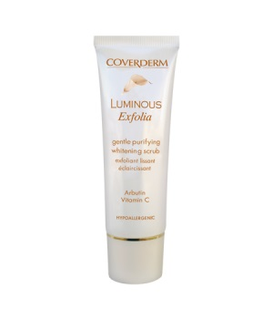 Осветляющий скраб для лица Luminous Coverderm Exfolia Scrub Arbutin Vitamin C