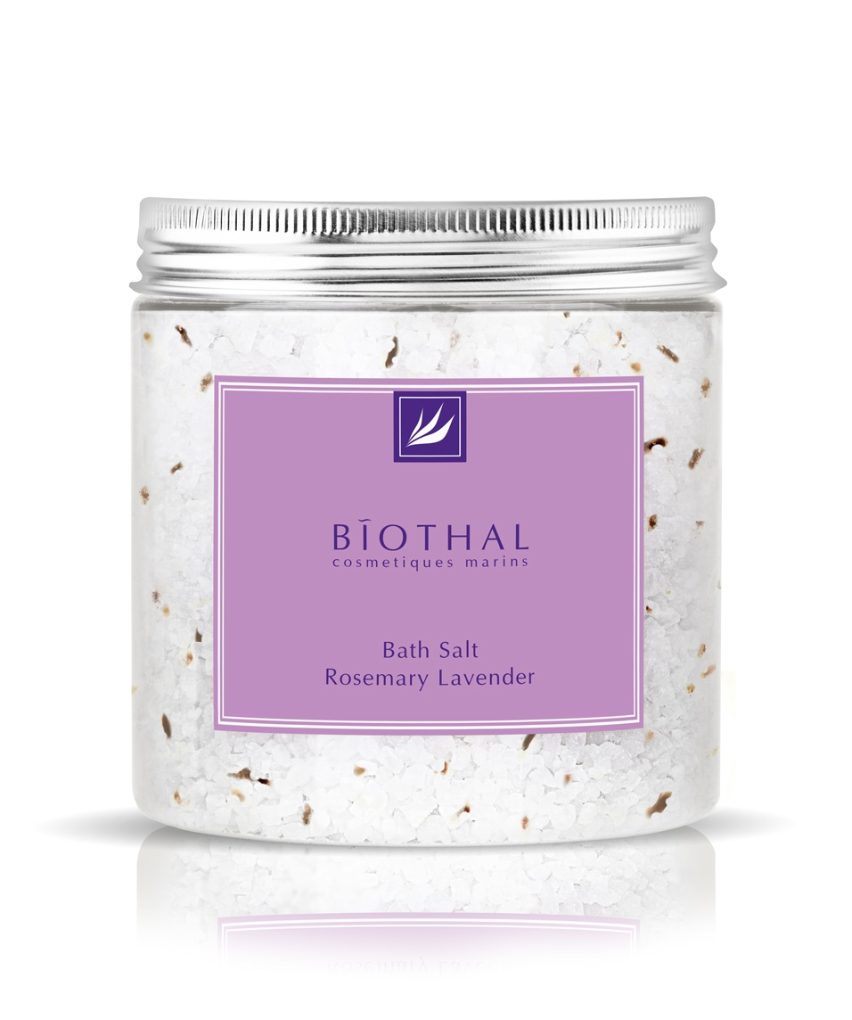 Соль для ванн Розмарин Лаванда Biothal Bath Salt Rosemary Lavender
