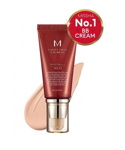 Тональный крем MISSHA M Perfect Cover BB Cream SPF42/PA+++