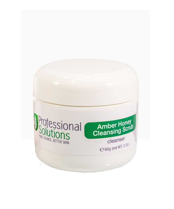 Ванильно-медовый скраб с янтарем Professional Solutions Amber Vanilla Honey Cleansing Scrub