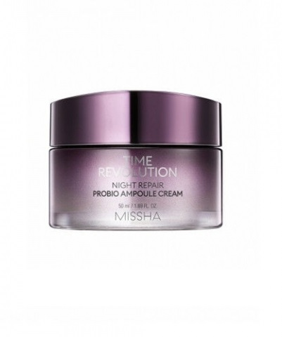 Восстанавливающий ночной крем MISSHA Time Revolution Night Repair Probio Ampoule Cream