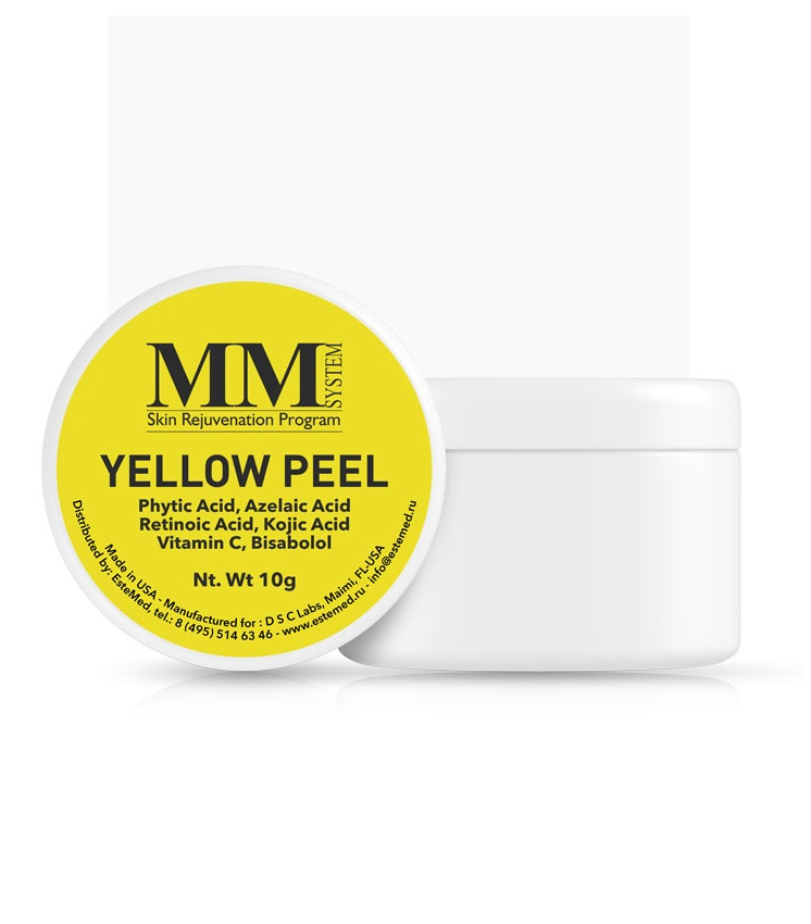 Ретиноевый пилинг Mene&Moy System Yellow Peel